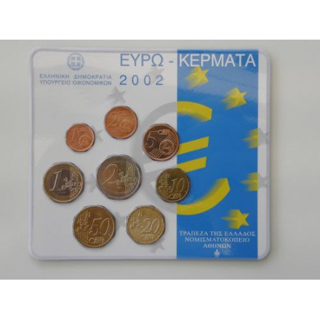 Bu set Griekenland 2002 uitgifte KNM