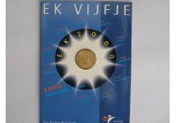 5 Gulden 2000 voetbal FDC