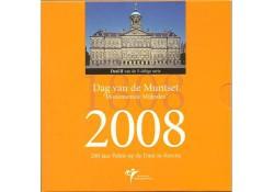 Nederland 2008 Dag van de muntset