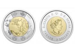 Canada 2021 2 Dollar...
