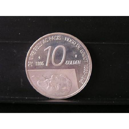 10 Gulden 1995 Hugo de Groot UNC