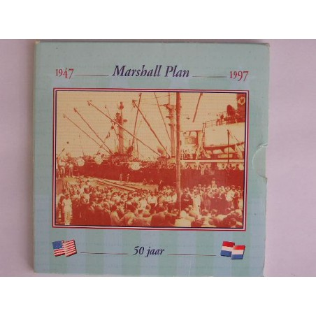 10 Gulden 1997 Marshall FDC