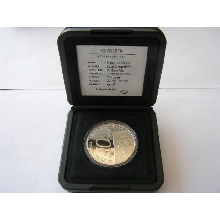 10 Gulden 1995 Hugo de Groot Proof
