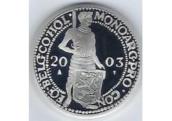 Zilveren Dukaat Proof 2003
