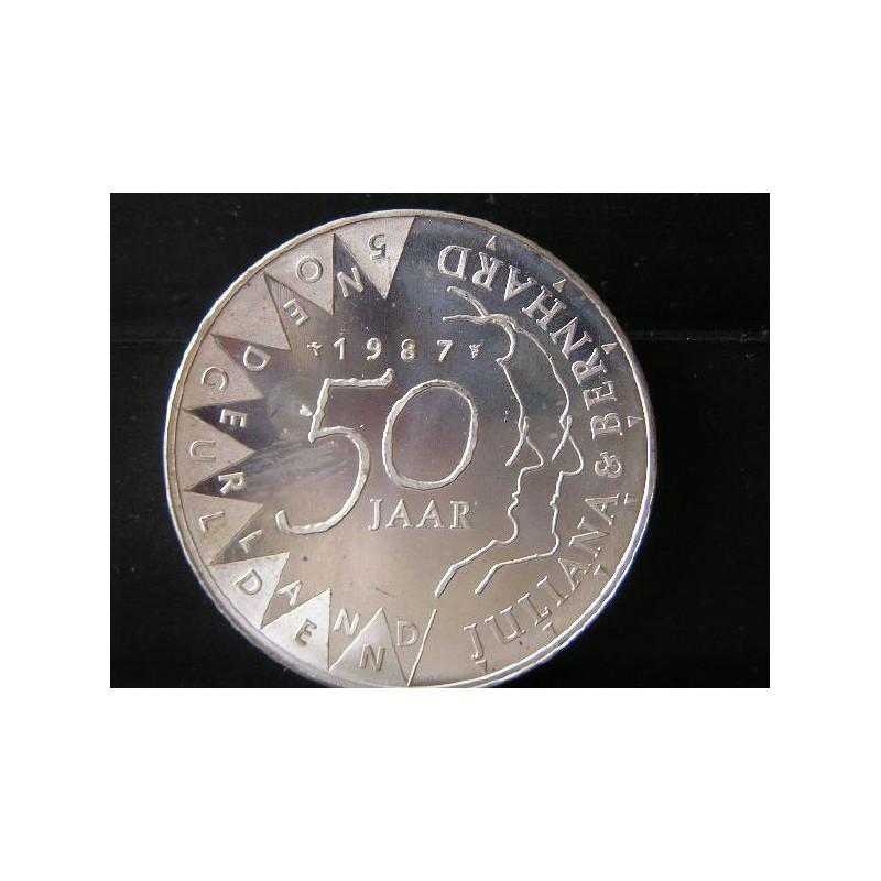 50 Gulden 1987 Juliana & Bernhard UNC