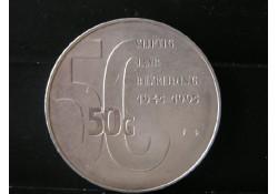 50 Gulden 1995 50 jaar Bevrijding UNC