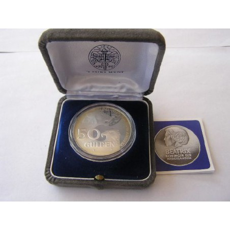 50 Gulden 1982 Ned/Amerika Proof