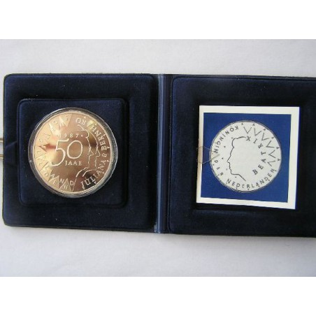 50 Gulden 1987 Juliana & Bernhard Proof