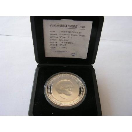 50 Gulden 1998 Vrede van Münster Proof
