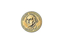 KM 401 U.S.A. 1th President Dollar 2007 P George Washington