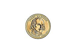 KM 404 U.S.A. 4th President Dollar 2007 D James Madison