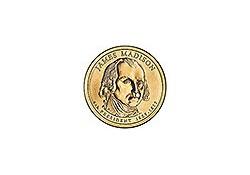 KM 404 U.S.A. 4th President Dollar 2007 P James Madison
