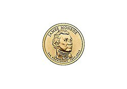 KM 426 U.S.A. 5th President Dollar 2008 D James Monroe