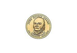 KM 427 U.S.A. 6th President Dollar 2008 D John Quincy Adams