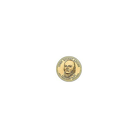 KM 427 U.S.A. 6th President Dollar 2008 P John Quincy Adams