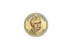 KM 428 U.S.A. 7th President Dollar 2008 D Andrew Jackson