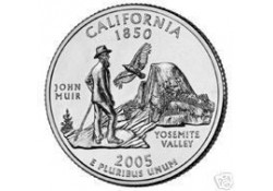 KM 370 U.S.A ¼ Dollar California 2005 P UNC