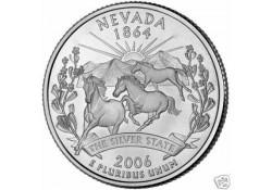 KM 382 U.S.A ¼ Dollar Nevada 2006 P UNC
