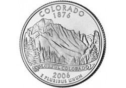 KM 384 U.S.A ¼ Dollar Colorado 2006 P UNC