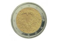 2 Euro Finland 2008 60 jaar rechten van de mens UNC