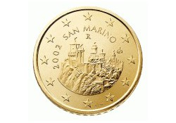 50 Cent San Marino 2008 UNC