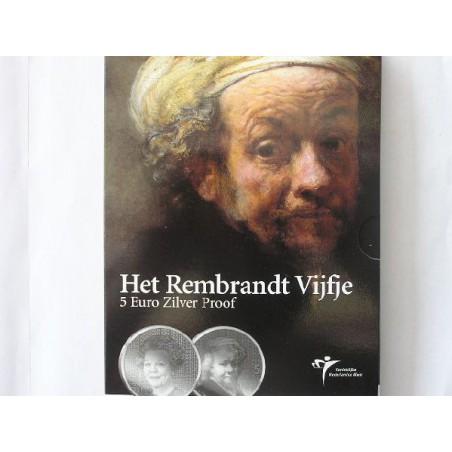 Nederland 2006 5 Euro Rembrandt Proof