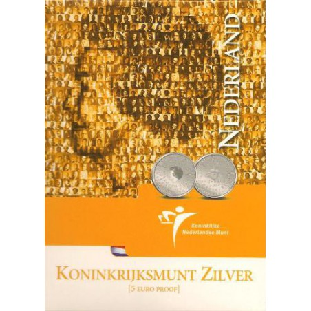 Nederland 2004 5 euro Koninkrijksstatuut proof