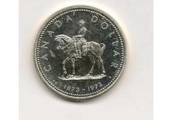 Km  83 Canada 1 Dollar 1973 FDC