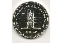 Km 118 Canada 1 Dollar 1977 FDC