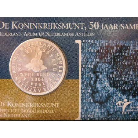 Nederland 2004 5 euro Koninkrijksstatuut Unc  in Coincard