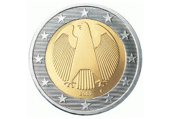 2 Euro Duitsland 2008 J UNC