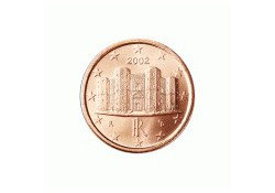 1 Cent Italië 2008 UNC