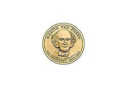 KM 429 U.S.A. 8th President Dollar 2008 P Martin van Buren