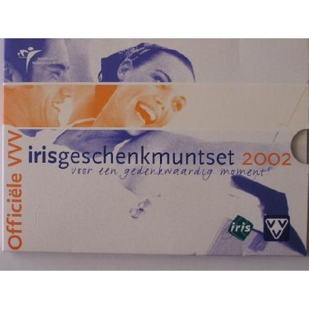 Nederland 2002 (3) VVV-Irisgeschenkmuntset