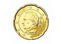 20 Cent België 2008 UNC