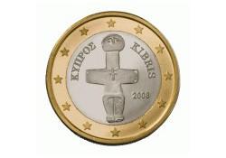 1 Euro Cyprus 2008 UNC