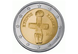 2 Euro Cyprus 2008 UNC