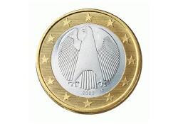 1 Euro Duitsland 2009 F UNC