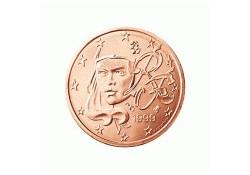 2 Cent Frankrijk 2007 UNC