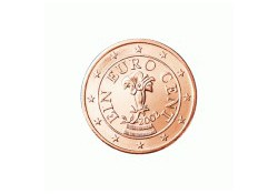 1 Cent Oostenrijk 2008 UNC
