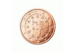 2 Cent Portugal 2009 UNC