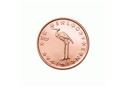 1 Cent Slovenië 2009 UNC