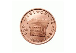 2 Cent Slovenië 2008 UNC