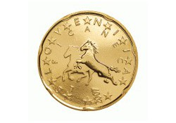 20 Cent Slovenië 2009 UNC