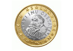 1 Euro Slovenië 2008 UNC
