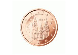 2 Cent Spanje 2009 UNC