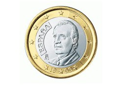 1 Euro Spanje 2009 UNC