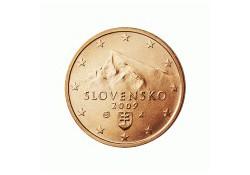 2 Cent Slowakije 2009 UNC