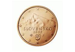 5 Cent Slowakije 2009 UNC