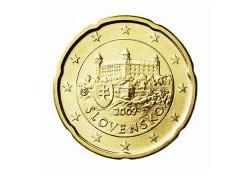 20 Cent Slowakije 2009 UNC